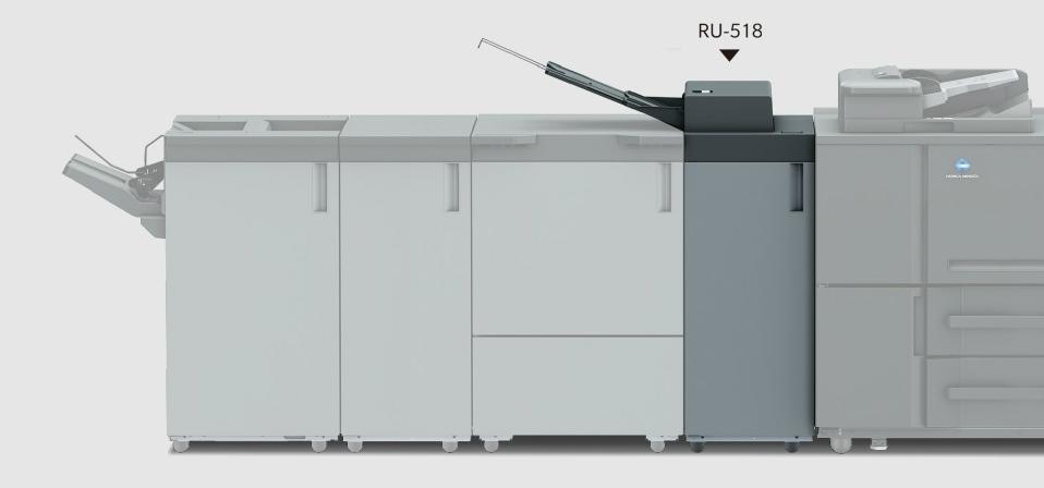 Konica Minolta AccurioPress 6136P. Регулирование выпрямления бумаги