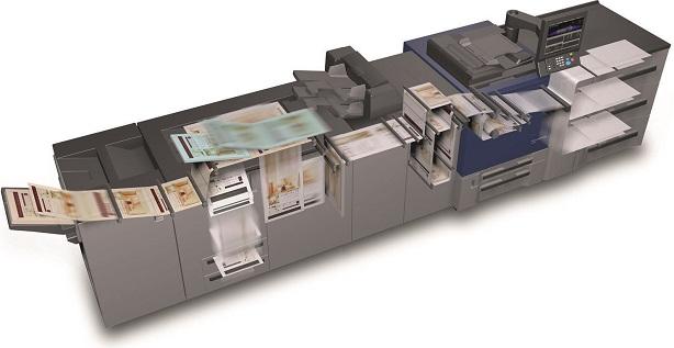Konica Minolta AccurioPress C2070. Высокая производительность
