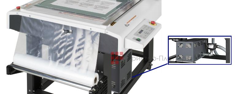 Mimaki CFL-605RT. Система вакуумного прижима для надежной фиксации материала