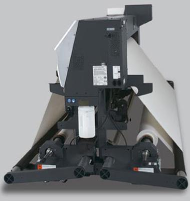Mimaki JV5-320S. Система подачи и подмотки носителя