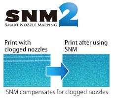 OKI ColorPainter M-64s. Технология SNM2