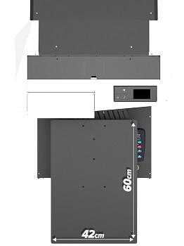 Polyprint TexJet echo. Максимальная площадь печати