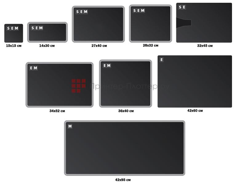 Polyprint TexJet echo. Съёмные столики