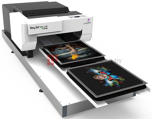 Polyprint Texjet PLUS Long Double Tables