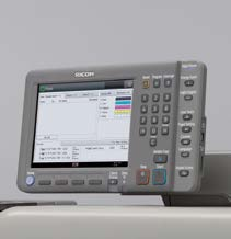 Ricoh Pro C7100. Простота эксплуатации