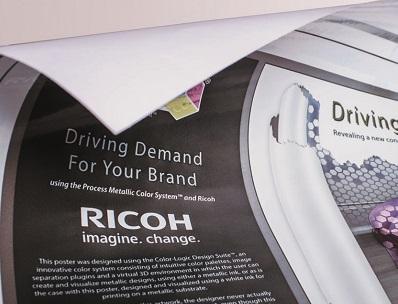 Ricoh Pro L4130. Трехслойная печать