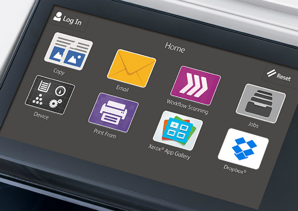 Xerox AltaLink B8045. Сенсорный экран