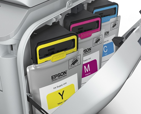 Epson WorkForce Pro RIPS. Мягкие контейнеры с микрочипом