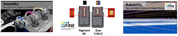 Фирменные печатающие головки Canon FINE