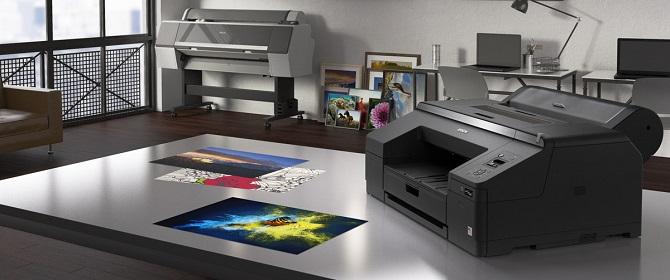 Epson SureColor SC-P5000. Фотопечать и цветопроба