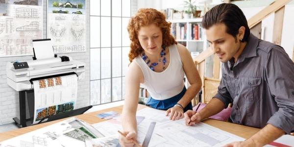 HP DesignJet. Идеальный выбор для вашего офиса и бюджета