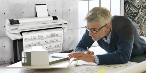 HP DesignJet. Скорость печати устройств