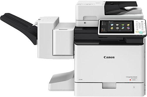 Canon imageRUNNER ADVANCE C355i. Настольный вариант с финишером