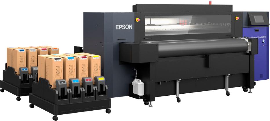 Промышленный текстильный плоттер Epson Monna Lisa ML-8000