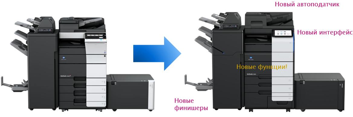 Konica Minolta i-Series. Новые функции