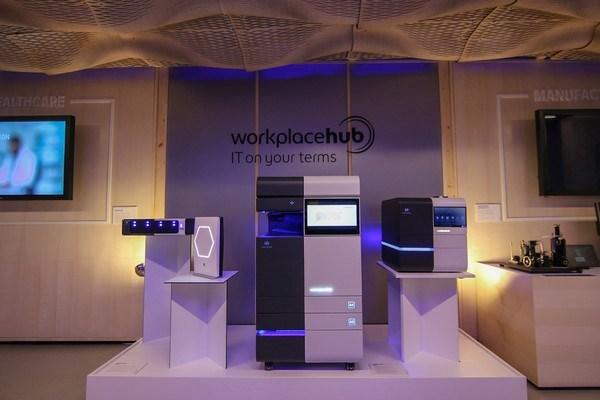 Konica Minolta Workplace Hub. Первая конфигурация