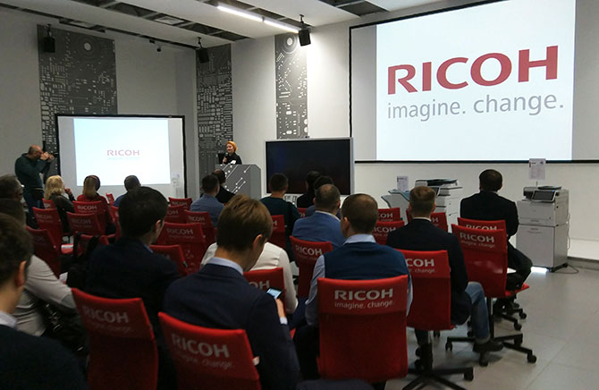 Презентация новинок Ricoh