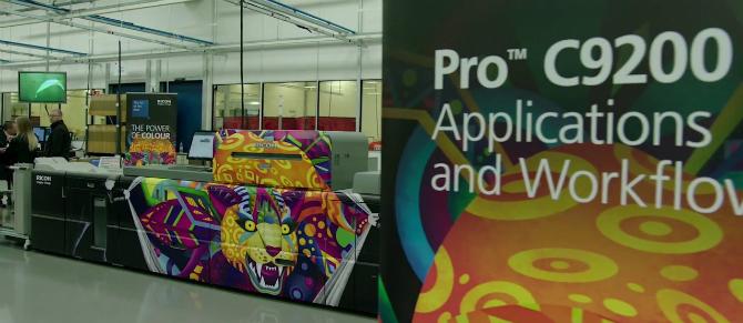 Ricoh Pro C9200 на выставке