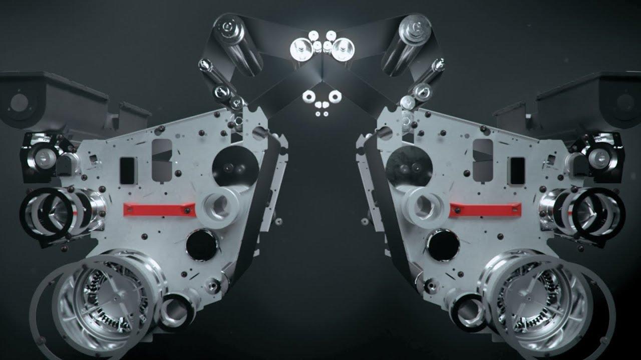 Oce VarioPrint 6000 TITAN. Технология мгновенной двусторонней печати Gemini