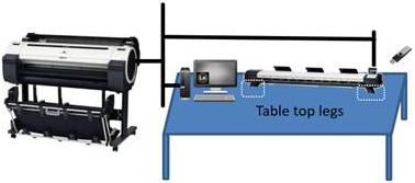 Установка сканера на стол отдельно от принтера