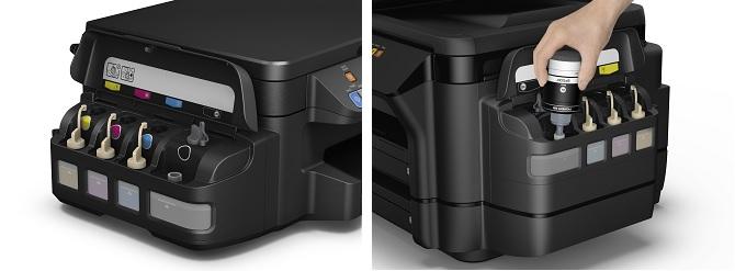 Новые Фабрики печати Epson. Встроенные емкости для чернил