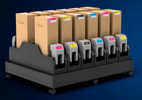 Цветовые конфигурации Epson SureColor SC-F10000H