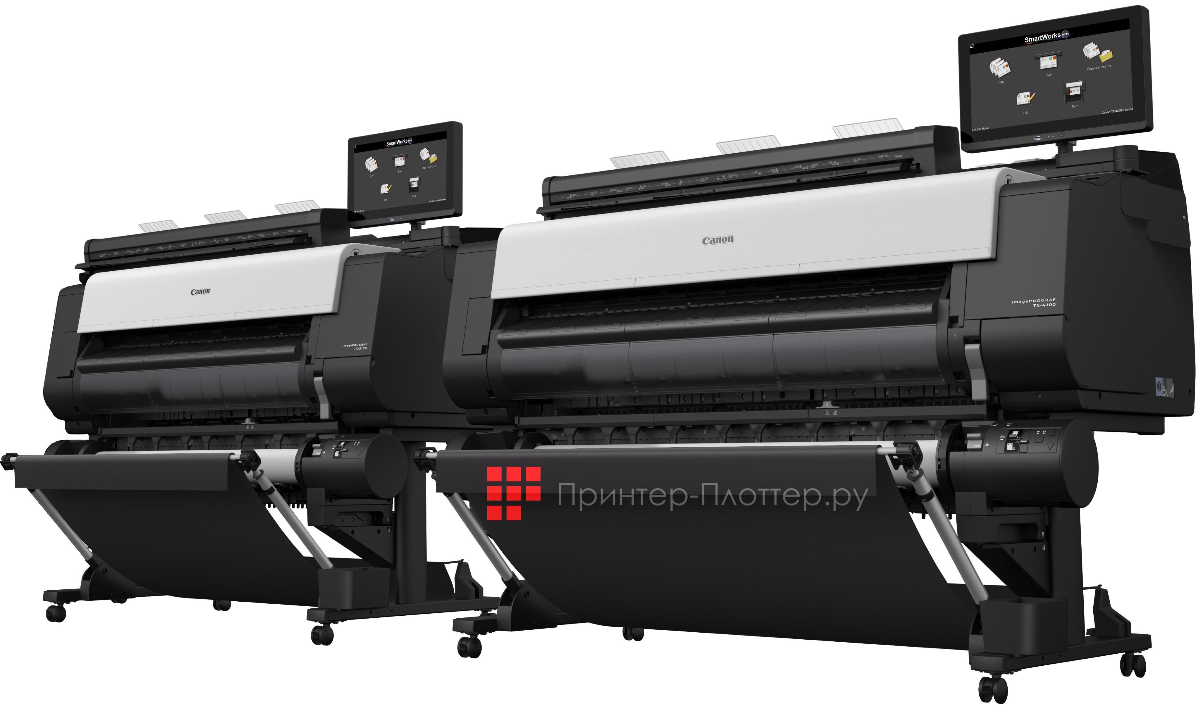 Новые МФУ Canon imagePROGRAF TX