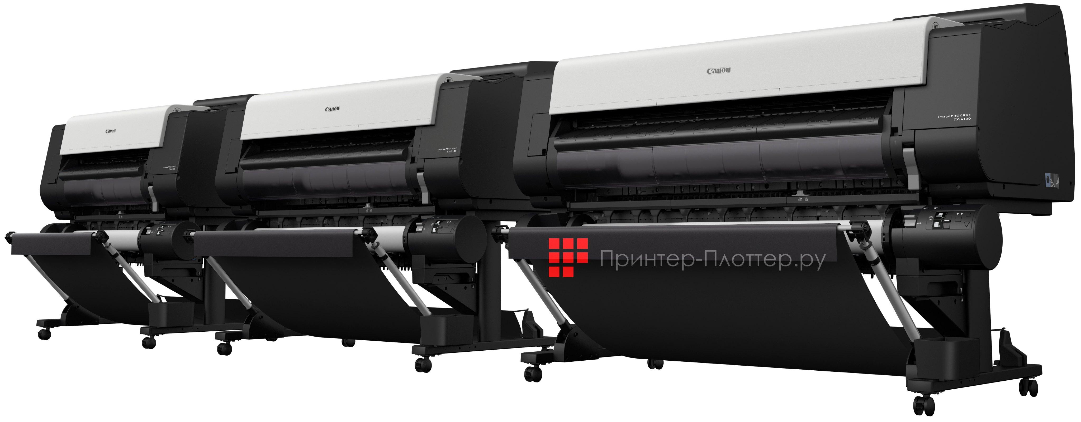 Новые плоттеры Canon imagePROGRAF TX