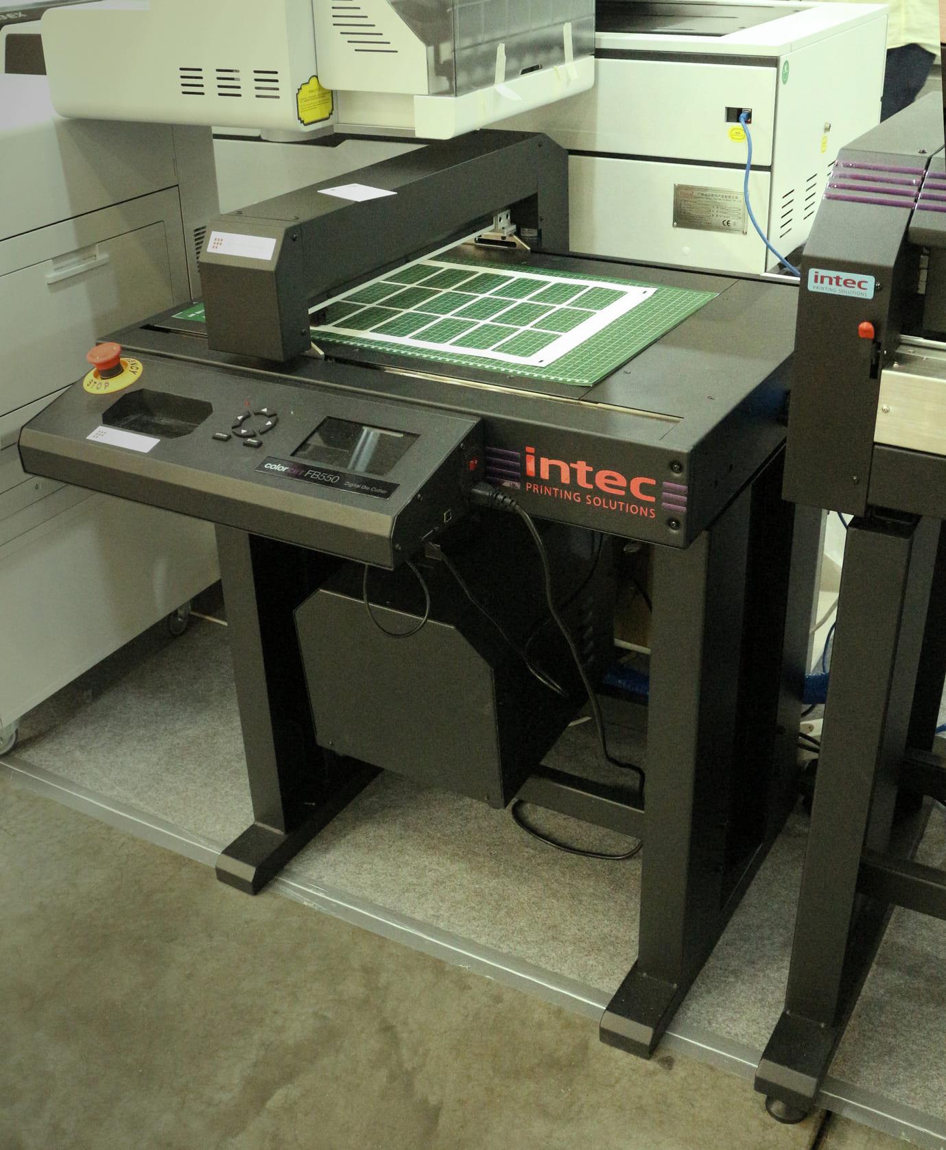 Intec ColorCut FB550 на выставке Printech 2021