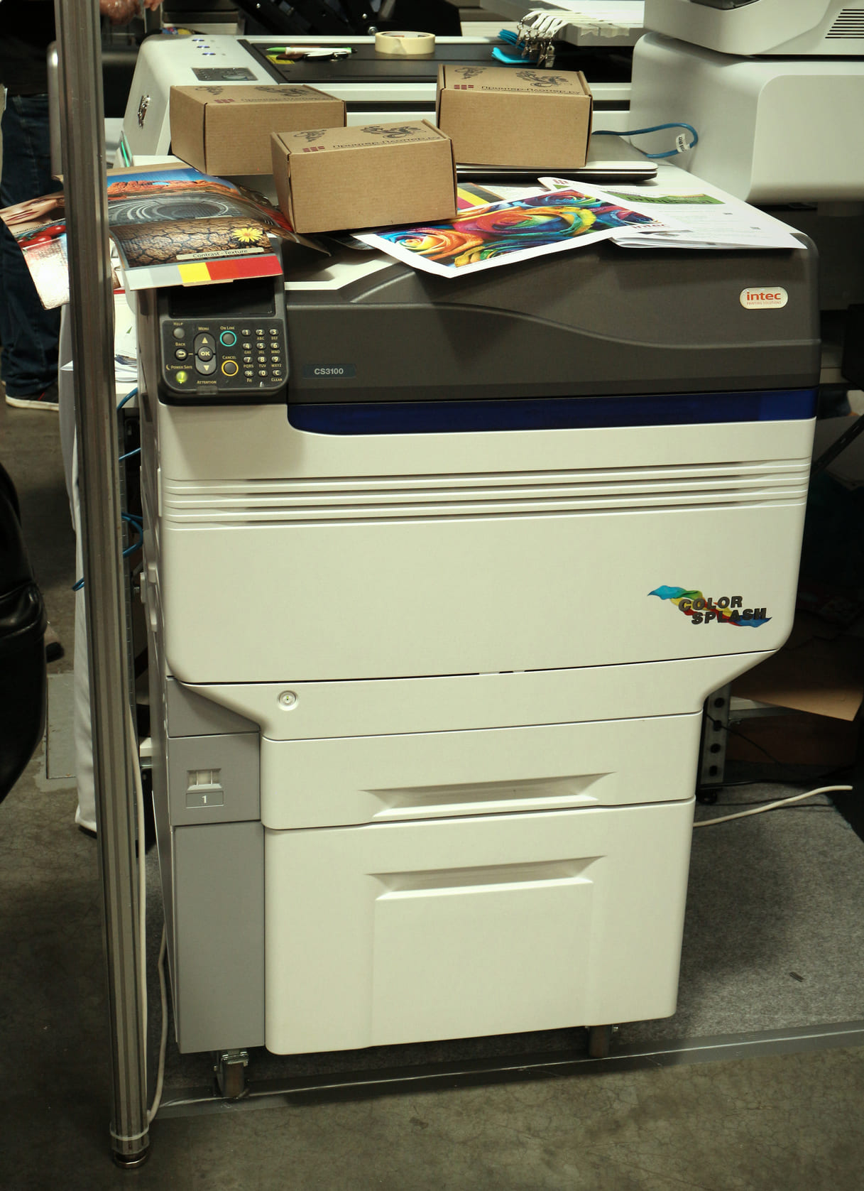 Intec ColorSplash CS3100 на выставке Printech 2021