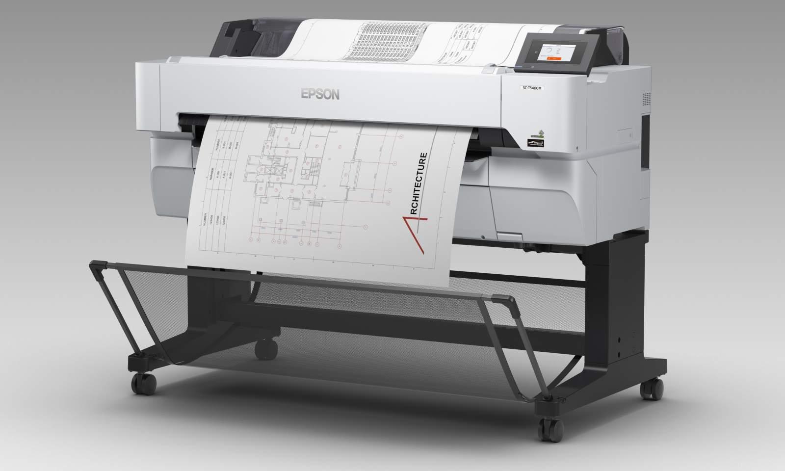 Epson SureColor SC-T5400M. Универсальный мультитул для инженерной печати