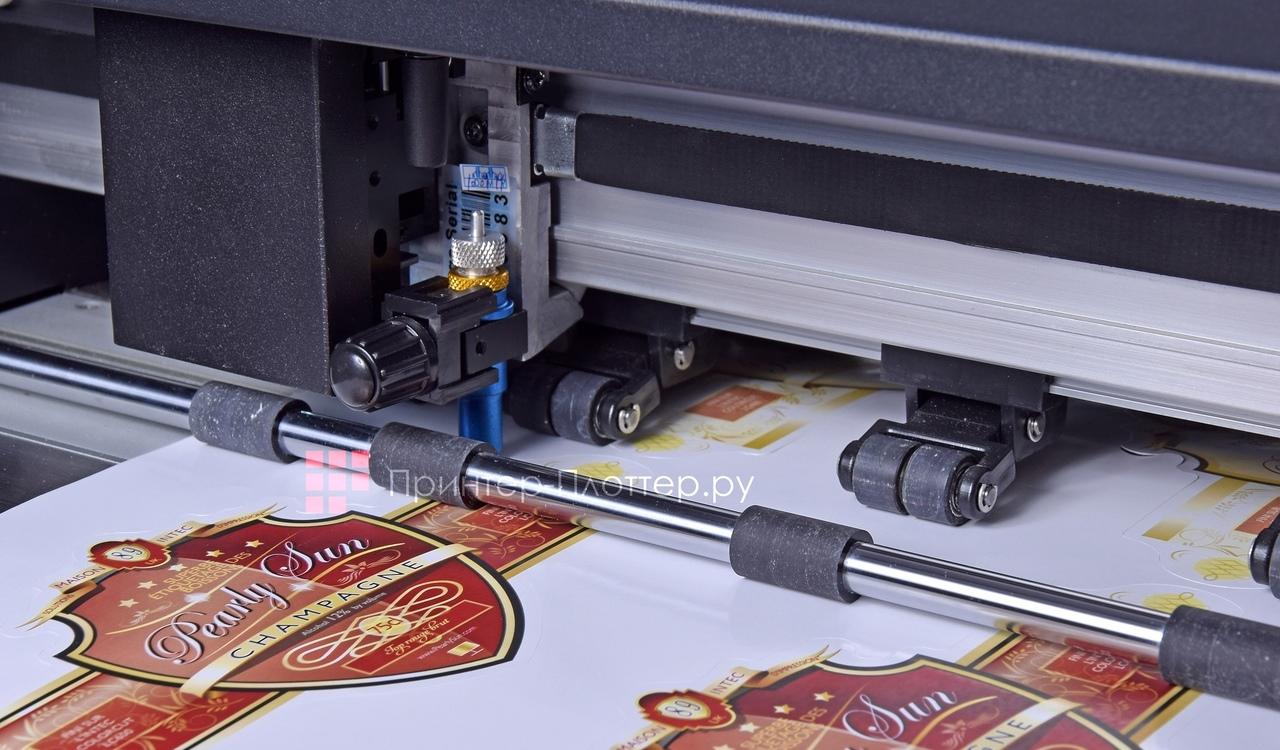 Intec ColorCut LC600. Легко разместить в любой типографии
