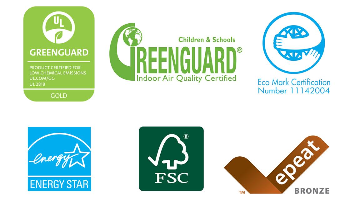 Экологические сертификаты латексных принтеров