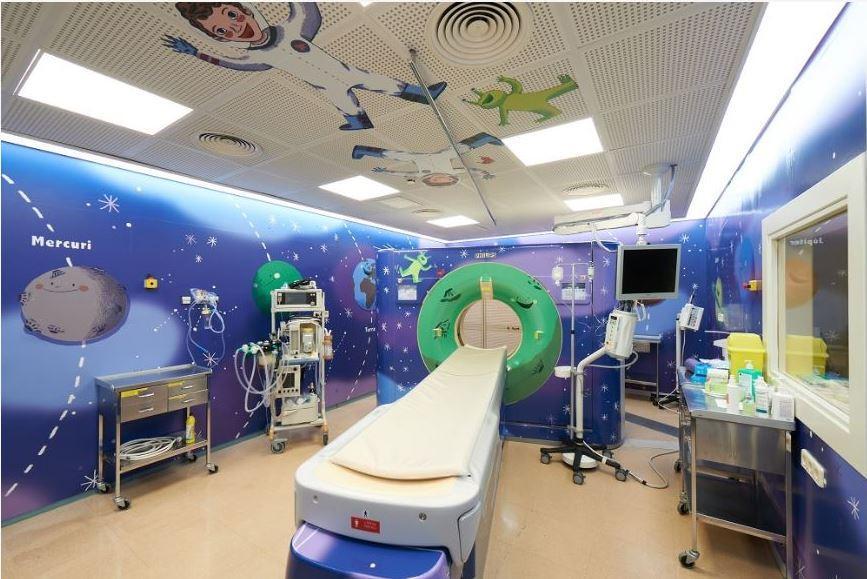 Кейс со столичной больницей оформленной латексными отпечатками от HP
