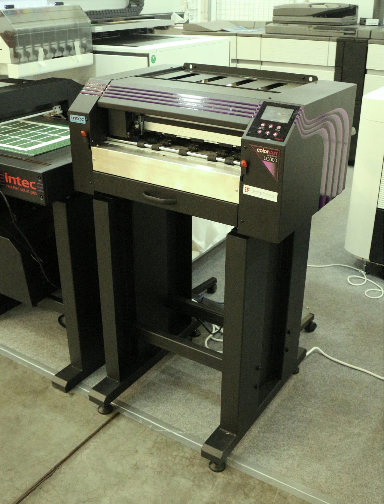 Intec ColorCut LC600 PRO на выставке Printech 2021