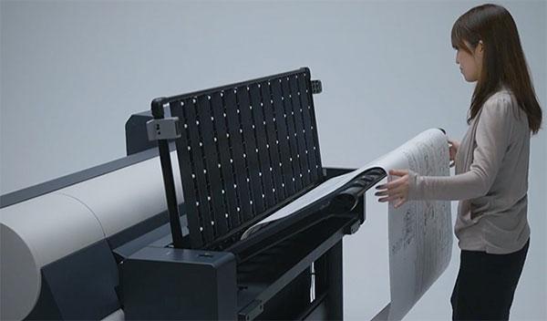 Выбор плоттера CAD/GIS для печати больших объемов. Автоукладчик Canon iPF850