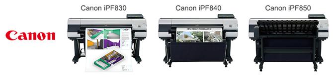Производительные плоттеры CAD/GIS компании Canon
