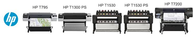 Производительные плоттеры CAD/GIS компании HP