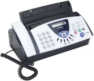 Факс Brother FAX-T104 FAXT104R1 Архив моделей Brother