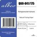 Калька Albeo Natural Tracing Paper, A0, 841 мм, 60 г/кв.м, 175 м