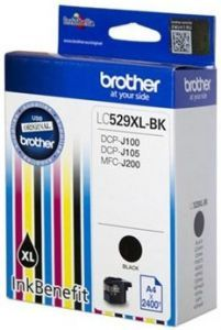 Картридж Brother LC-529XLBK (black), 2400 стр. LC529XLBK Brother