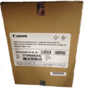 Canon ПО для доступа в интернет Web Access Software-H1 2738B006 Canon