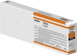 Картридж Epson T804A Ultrachrome HDX (orange) 700 мл C13T804A00 Epson
