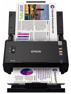 Сканер Epson WorkForce DS-520N B11B234401BT Протяжные сканеры Epson