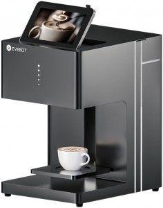Кофе-принтер Evebot Fantasia Color (черный)  купить в Москве и с доставкой по России по низкой цене