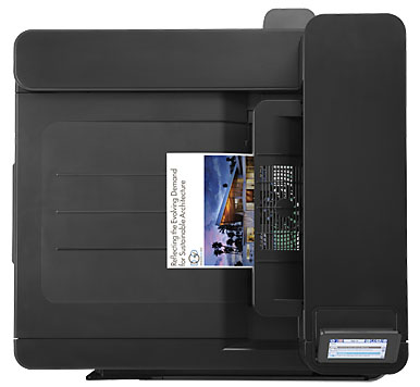 HP Color LaserJet Enterprise M855x+ NFC/беспроводная печать