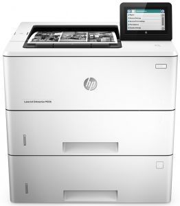 Принтер HP LaserJet Enterprise M506x F2A70A Лазерные принтеры HP