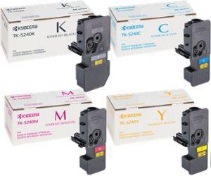 Тонер-картридж Kyocera Toner Kit TK-5240 комплект (C,M,Y,K) 4шт  купить в Москве и с доставкой по России по низкой цене