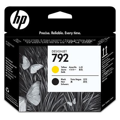 Печатающая головка HP 792 (yellow/black) CN702A