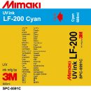 Чернила Mimaki LF-200 UV LED Curable Ink (cyan), 600 мл